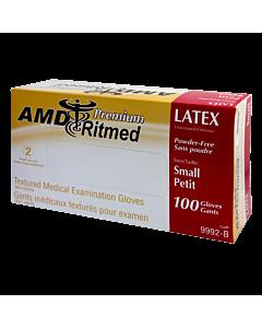 Multipurpose AMD Ritmed Latex Glove - small 100 gloves