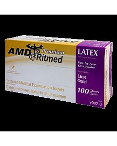 Multipurpose AMD Ritmed Latex Glove - large