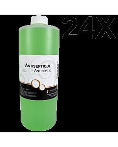 Antiseptique 1 litre Recharge (24 Unités)