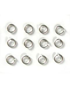 Anneaux Argent (12 pièces) - Piercing ongles