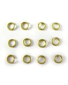 Anneaux Or (12 pièces) Piercing ongles