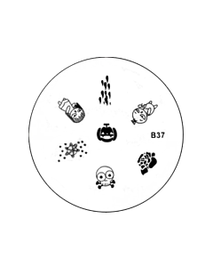 Plaquette pour Stamping B37 - Halloween