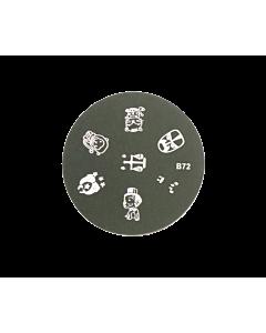 stamping signes du zodiaque B72