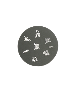 Plaquette pour Stamping B78 - insectes