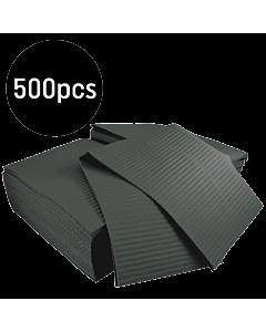 Black Dental Bibs (Gibson) 500pcs