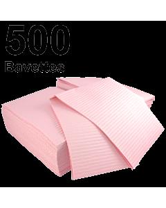 Pink Dental Bibs Medicom