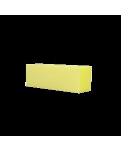 Yellow Buffer Block 220/220 (3 sides) (1pc)