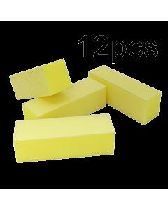 Yellow Buffer Block 220/220 (3 sides) (12pcs)