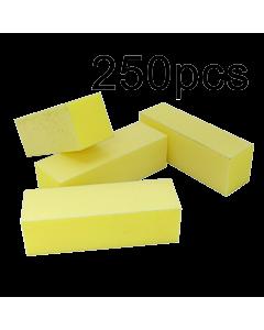 Yellow Buffer Block 220/220 (3 sides) (250pcs)
