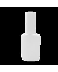 Bouteille Vide en Plastique avec Bouchon 15ml - Blanche