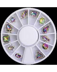 Jewel wheel -  Multicolor Holographic (12)