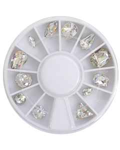 Jewel wheel -  Clear Holographic (12)
