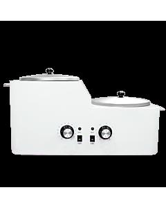 Chauffe Cire Double en Métal Blanc SD-59 570W 110V