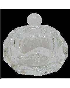 Contenant Cristal pour Poudre acrylique Rond Diamant