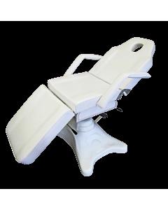 Chaise d'esthétique blanche ajustable hydrolique