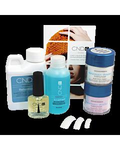 CND Retention+ Basics contenu de l'ensemble de départ en Acrylique