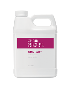 Offly Fast Moisturizing Remover 32oz CND Service Essentials