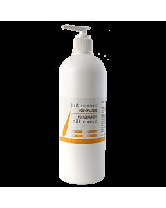 Crème Post-Épilatoire enrichie de Vitamine C 500 ml