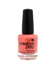 CND Creative Play Polish #405 Jammin' Salmon - bottle