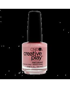 CND Creative Play Vernis # 406 Blush On U - bouteille