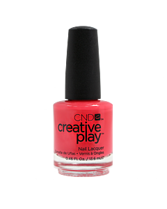 CND Creative Play Polish #410 Coral Me Later - bottle