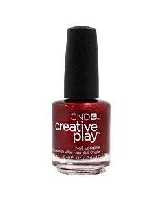 CND Creative Play Polish # 415 Crimson Like It Hot - bottle