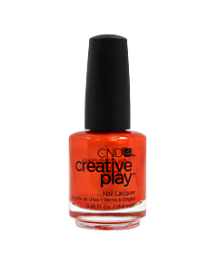 CND Creative Play Polish # 421 Orange You Curious - bottle