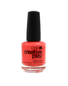 CND Creative Play Polish # 422 Mango About Town - bottle