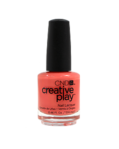 CND Creative Play Polish # 423 Peach of Mind - bottle