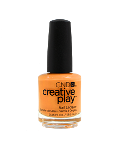 CND Creative Play Polish # 424 Apricot in the Act - bottle