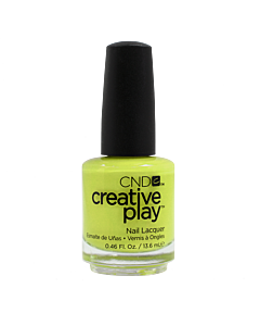 CND Creative Play Polish # 427 Toe the Lime - bottle