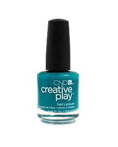CND Creative Play Polish # 432 Head Over Teal - bottle