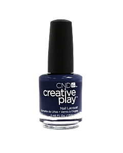 CND Creative Play Polish # 435 Navy Brat - bottle