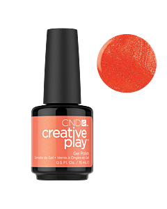 Gel Polish #421 Orange You Curious CND Creative Play