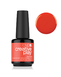 Gel Polish #499 Tangerine Rush CND Creative Play