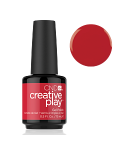 Gel Polish #412 Red Y To Roll CND Creative Play