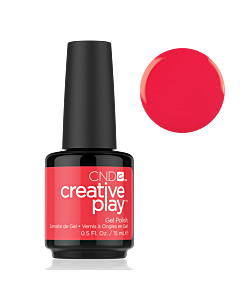 Gel Polish #453 Hottie Tomattie CND Creative Play