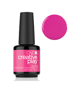 Gel Polish #409 Berry Shocking CND Creative Play