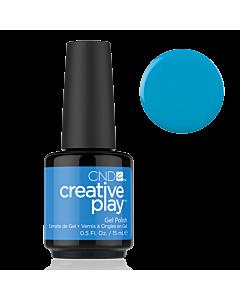 Gel Polish #493 Aquaslide CND Creative Play