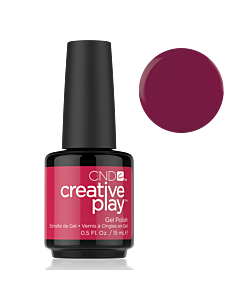 CND Creative Play Gel Polish #460 Berry Busy 0.5oz