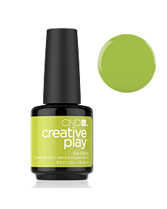 Gel Polish #427 Toe the Lime CND Creative Play