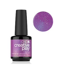 Glitter Purple polish #475 Positively Plumsy CND Creative Play