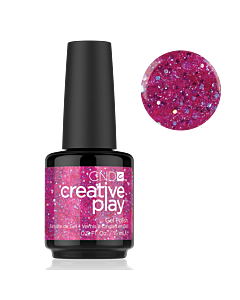 Gel polish Fuschia Glitter #479 Dazzleberry CND Creative Play