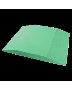 Green foam manicure armrest