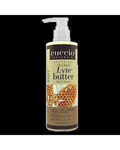 Cuccio Ultra Sheer Honey & Milk 8 oz