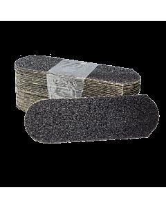 Cuccio Pedicure Refill Paper File Black Grit 80 (Pack of 50)