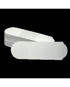 Lime remplacement Pour Pédicure blanche Grain De 180 (paquet de 50)
