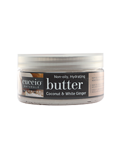 Cuccio Coconut & White Ginger Body Butter 8 oz