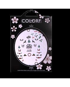 3-D Nail Sticker model Christmas/Deer/Antlers