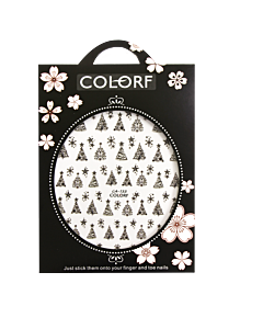 3-D Nail Sticker model Christmas Tree